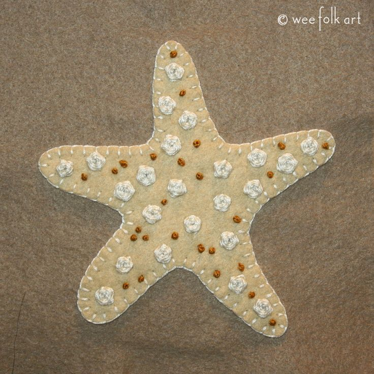 The beauty of a starfish is captured in our Starfish Applique. Although the shape is simple, the embroidery adds lots of character to the applique.