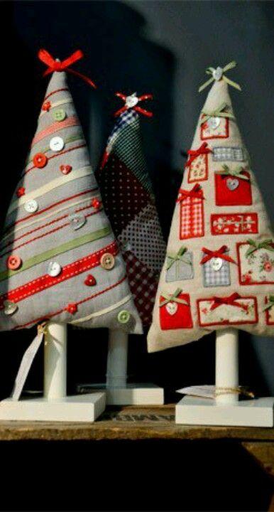 Diy christmas tree #christmas #noel #natal #sewing
