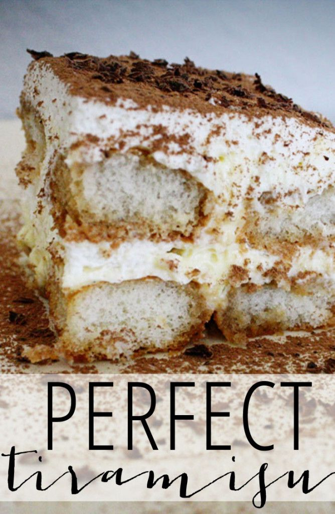 THE Perfect Tiramisu Recipe #dessert #tiramisu