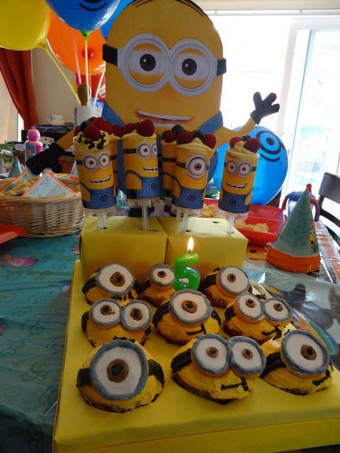 Une fête d'enfants sous le thème des Minions!