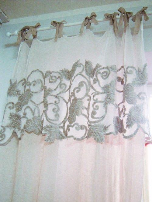 Tenda puro lino Mathilde M.