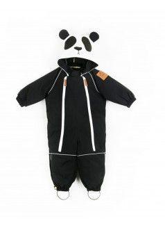 MINI RODINI Alaska Snowsuit / Panda