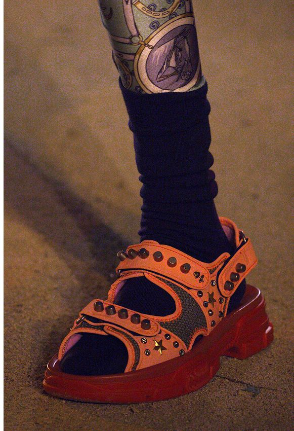 b8b14d016f4b Gucci Shoes Cruise 2019 Put These Shoe Trends On Display   FLAT ...