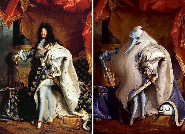 Ritratto di Luigi XIV di Hyacinthe Rigaud