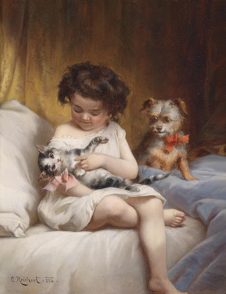Favorite Pets by Carl Reichert | Art Posters & Prints