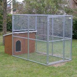 Dog Kennel mod. Eco + Dog House mod. Collie