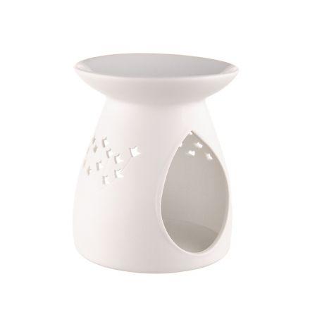 OIL BURNER Porcelain Doves 10.5x12.5cm | Karma Living