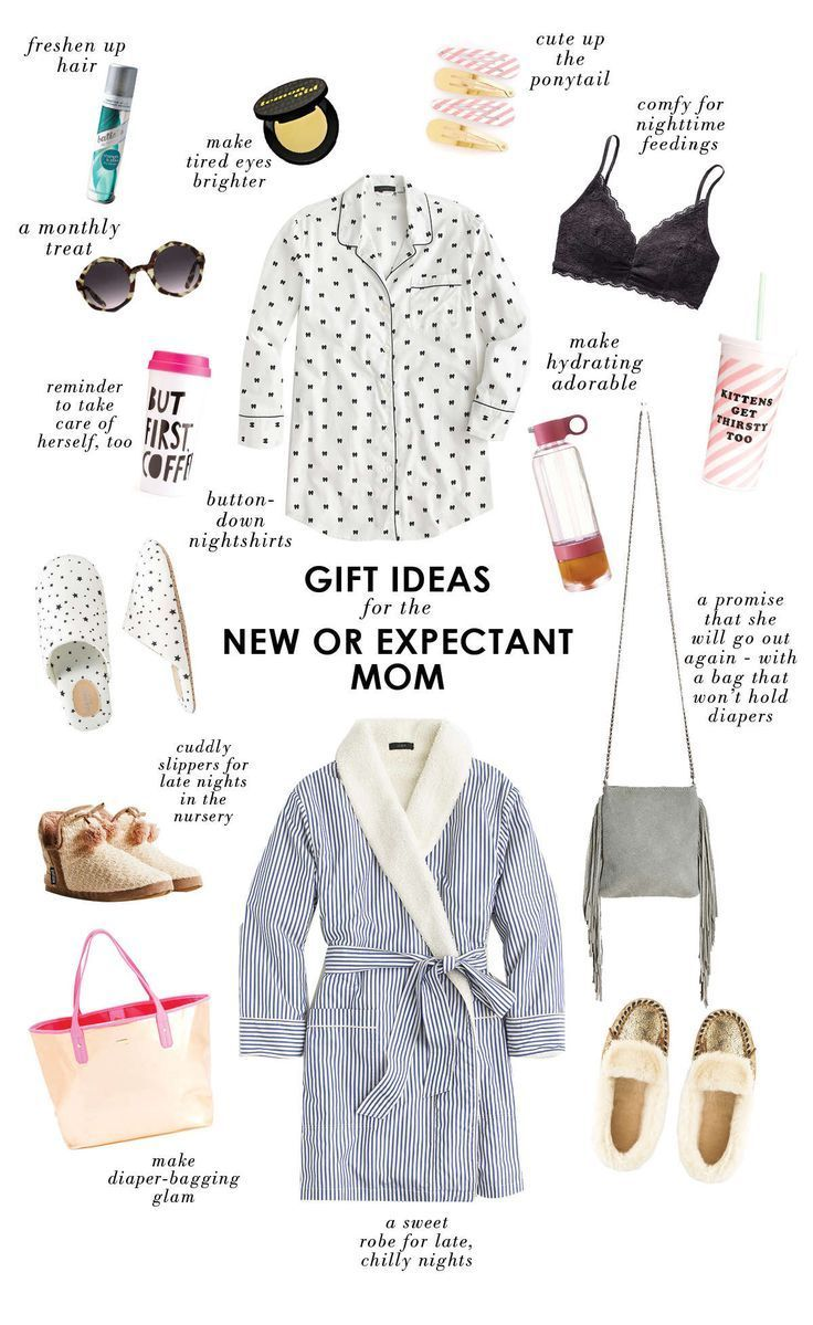 Gift Ideas For A New Or Expectant Mom Gifts