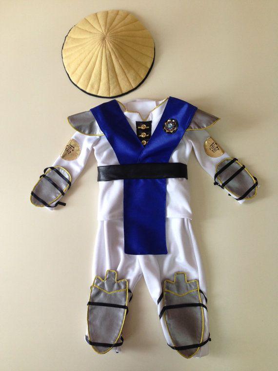 raiden baby costume cosplay clothes ninja mortal kombat halloween costume mk assassin fancy - Mortal Kombat Smoke Halloween Costume