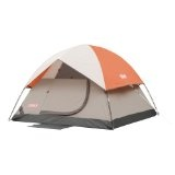 Coleman SunDome 7-Foot by 7-Foot 3-Person Dome Tent (Orange/Gray) (Sports)By Coleman