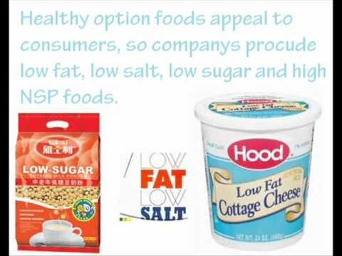 Healthy Eating - Nutrition - Food Technology GCSE