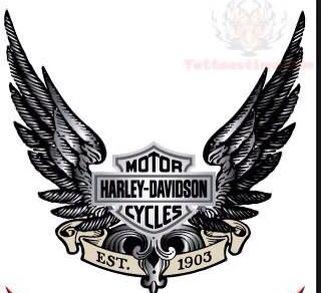 Harley-Davidson tattoo