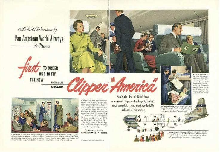 Vintage airline ad - 1949