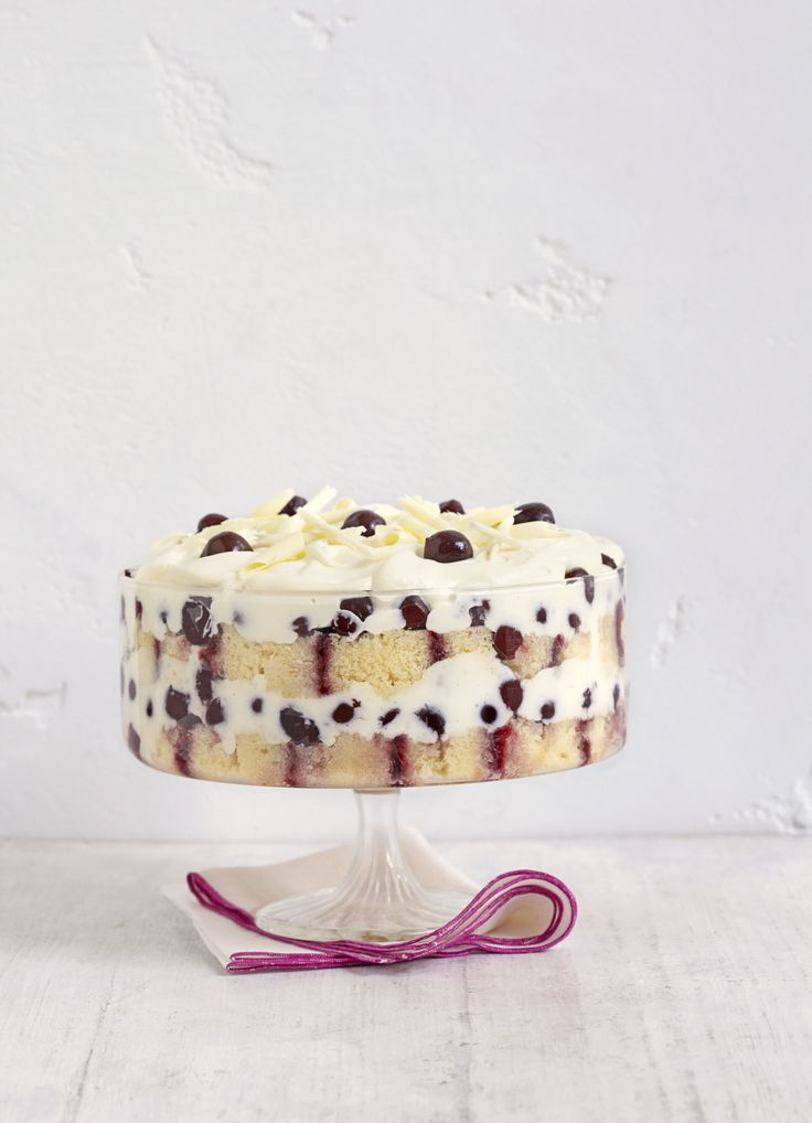 White forest trifle: This trifle is an easy and stylish dessert to make all year round. Ready in only 30 minutes, this will become a crowd favourite in no time.