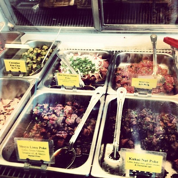 Eating fish for ash wednesday #poke#hawaii - @honorooroo- #webstagram