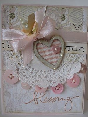 This is what I would like to make my honey.  But we will be in court that day and I don't think it will happen.  pretty card