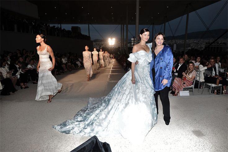 Εντυπωσιακή επίδειξη μόδας στο Ίδρυμα Σταύρος Νιάρχος