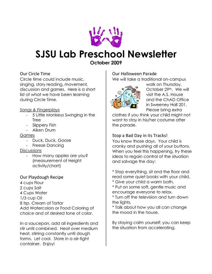 9 best newsletters images on pinterest newsletter ideas preschool newsletter templates and. Black Bedroom Furniture Sets. Home Design Ideas