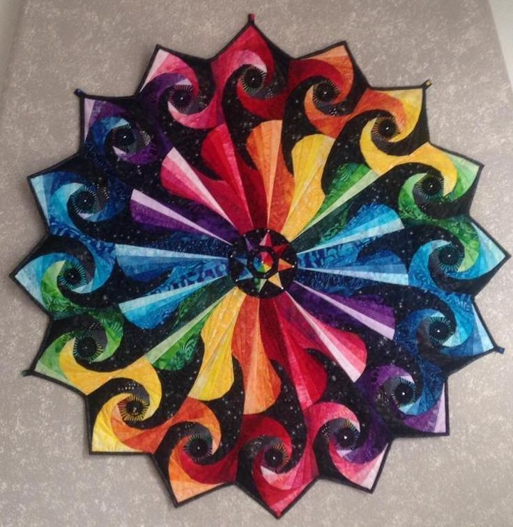 Rainbow Vortex | Craftsy