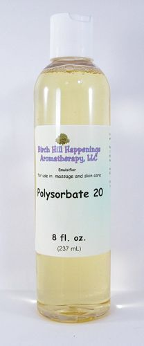 Polysorbate 20 emulsifier