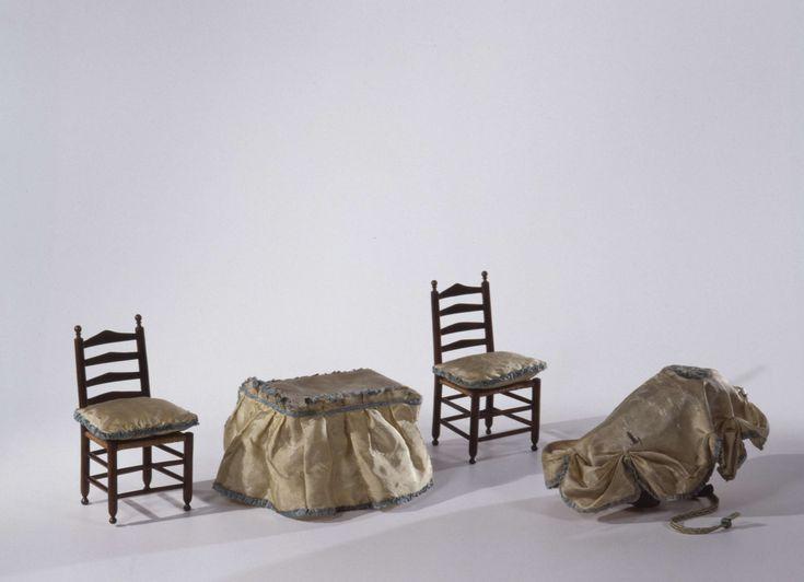 Wieg van gespleten wilgenteen, anoniem, ca. 1690 - ca. 1710