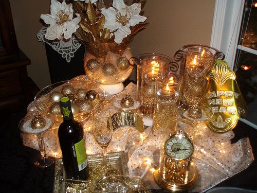 New Year S Eve Theme By Dining Delight Via Flickr 50th