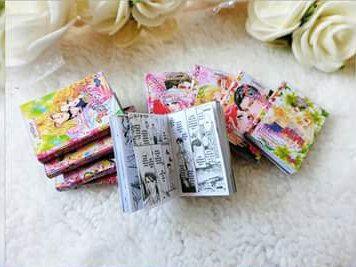Japanese comic book set for dolls by SweetkissDollShop on Etsy