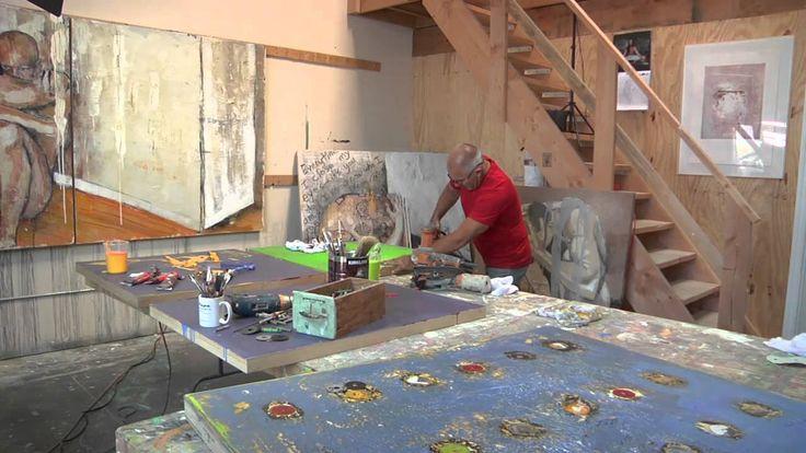 Blue Contemporary #Artist: Paul Ecke & the  Conversations Series  www.bluecontemporary.com #contemporary #art  #abstract #studioArt #interview