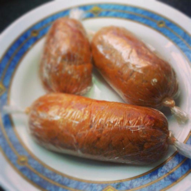 Chorivegano: el chorizo para veganos y vegetarianos. Ideal para bocadillos sin carne. Cocina vegetariana y veganismo.