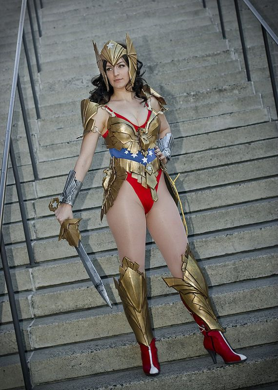 wonder woman cosplay thong