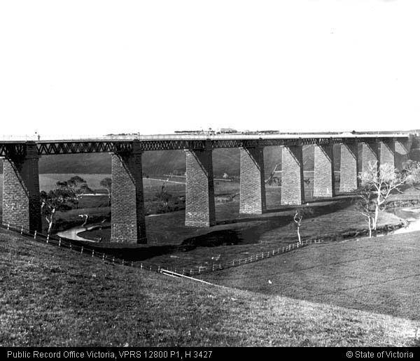 Moorabool River viaduct