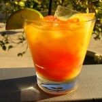 Bay Breeze - 1 1/2 oz Vodka 3 oz Pineapple Juice 1 oz Cranberry Juice