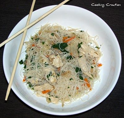 Chicken Chow Mei Fun