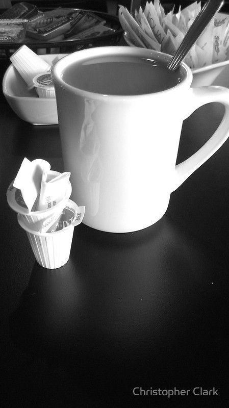 "B&W. ""Cup a Joe"" By Christopher Clark"