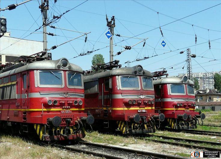 Электровозы, ст. Варна, Болгария