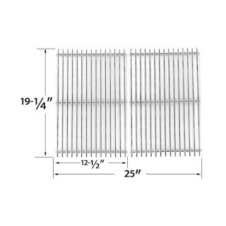 Grillpartszone- Grill Parts Store Canada - Get BBQ Parts,Grill Parts Canada: Patio Chef Heavy Duty Stainless Steel Cooking Grat...