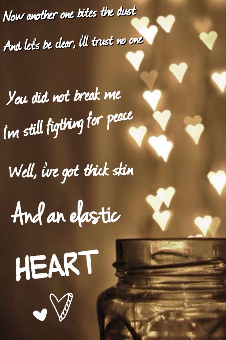 The 25+ best Elastic heart ideas on Pinterest   Sia lyrics, Songs ...