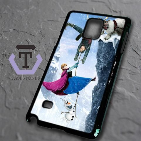 Mountain Snow Disney Frozen Samsung Galaxy Note Edge Black Case