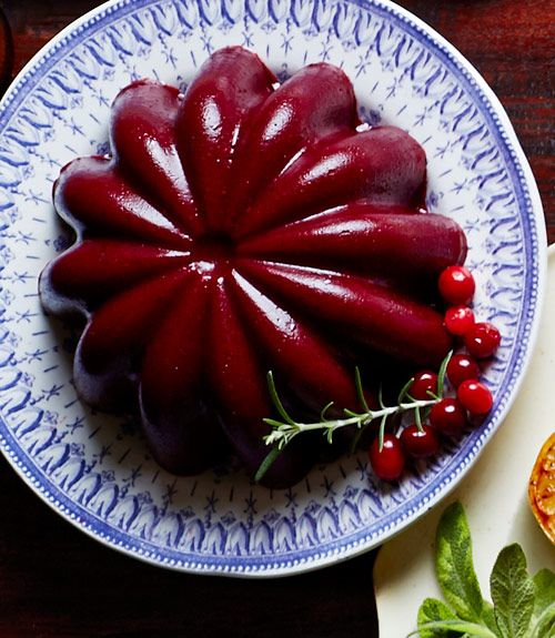 Rosemary-Port Cranberry Sauce