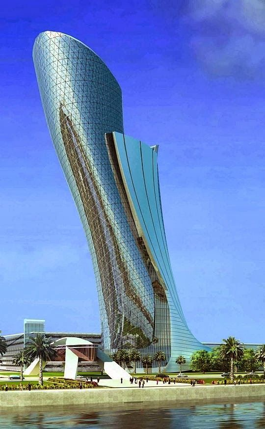 Capital Gate in Abu Dhabi
