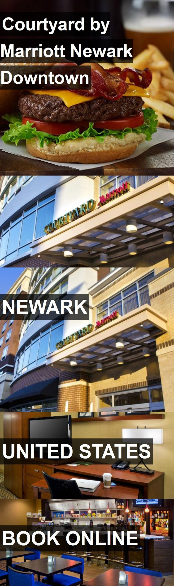 Hotel Courtyard by Marriott Newark Downtown in Newark, United States. For more information, photos, reviews and best prices please follow the link. #UnitedStates #Newark #travel #vacation #hotel