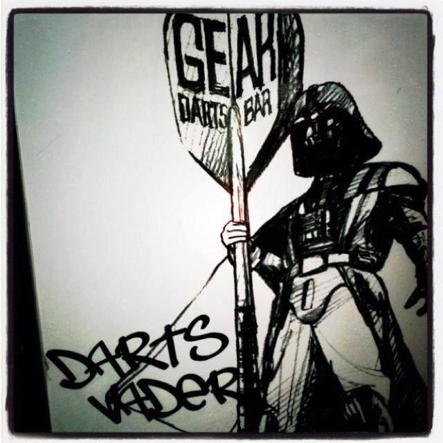 Darts Vader