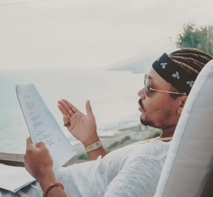 'Empire' season 3 spoilers include casting news that rapper Romeo Miller has been added to the all-star line-up of the hit FOX drama. Fans found out Romeo was joining the cast via Instagram. In addition, an audition call has gone out for actors under 18. Shown relaxing on a lounge chair by the wa