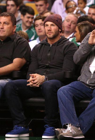 Julian Edelman Photos: Toronto Raptors v Boston Celtics