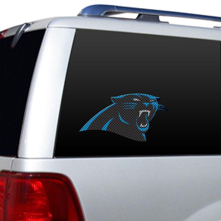 Carolina Panthers Team Logo Die-Cut Window Film