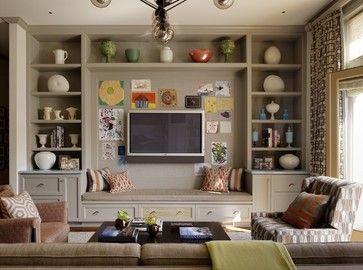 Wall Shelving Units For Living Room   Foter