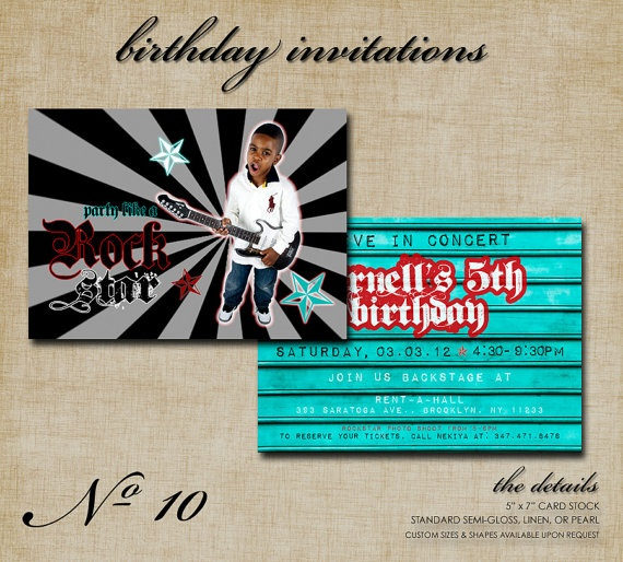 37 best rock star images on pinterest rock stars birthday party invite wording rock star birthday partybirthday stopboris Images