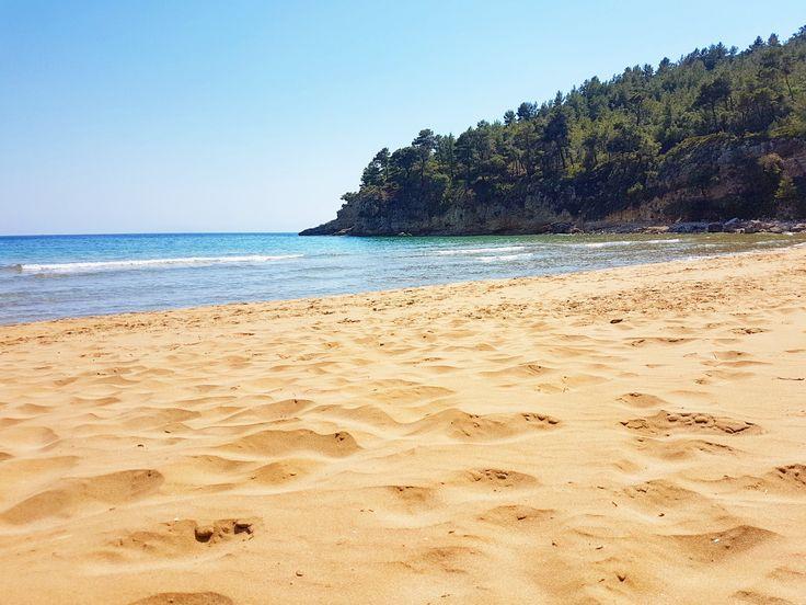 Chrisi Milia beach...  www.angelosalonissos.com #angelos_apartments #alonissos #sporades #greece #summer2017 #beach #sun #sea #sand