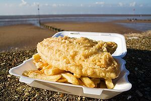 New Zealand cuisine - popular fast food, fish and chips