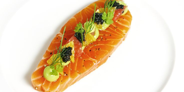 Adam Bennett shares a sumptuous citrus-cured salmon recipe, which makes a perfect starter to a dinner party